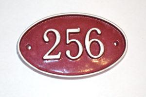 номерок акриловый ромб 18х15 340 руб