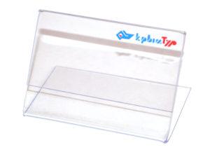табличка гнутая акриловая 10х8 см 90 руб